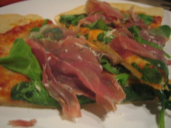 Proscuitto & Arugula Pizza